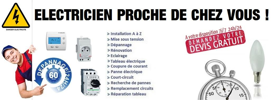 Electricien Massy